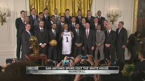 White House Tours Obama by President Obama Celebrates Spurs At White House Nba Com