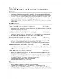 Apartment Maintenance Technician Resume Sample Sample Resume For Electrician In Maintenance Create Professional