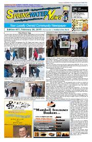 feb 26 ed 437 2015 for web by springwater news issuu