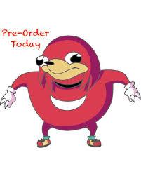 Knuckles Meme - spring sale buy 1 get 1 random pin free ugandan knuckles meme
