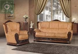 leather livingroom furniture high quality living room furniture european antique leather sofa