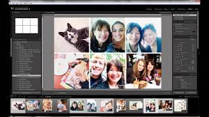 creating photo collages in lightroom part 2 4x6 with 4 photos u0026 6