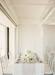 white and silver table runner 10 tablecloths and table runners we love silver sequin sequins