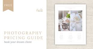 wedding photography pricing free pricing guide template design for wedding photographers the