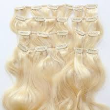 clip on extensions curly clip in hair extensions produced by china human hair factory