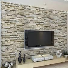 echte steinwand im wohnzimmer 2 haus renovierung mit modernem innenarchitektur schönes echte