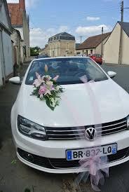 Deco Mariage Voiture by Decoration Tulle Et Ventouse Gris Rose Et Blanc Photo De