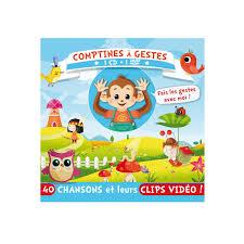 si e auto comptine cd et dvd comptines à gestes pour enfant de 2 ans à 5 ans oxybul