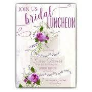 bridal lunch invitations bridal luncheon invitations