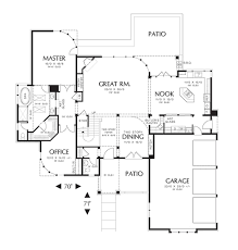 Butlers Pantry Floor Plans by Prairie Style House Plan 3 Beds 3 50 Baths 3217 Sq Ft Plan 48 562