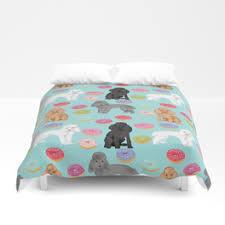 Duvet Donuts Poodles Duvet Covers Society6