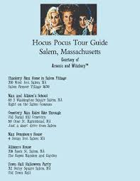 free hocus pocus movie location guide salem ma