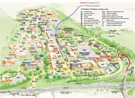 U Of A Campus Map University Of Sussex Campus Map Falmer East Sussex U2022 Mappery