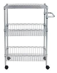 Kitchen Shelving Units by Easy Assemble Diy 3 Tier Chrome Diy Kitchen Shelving Units Buy