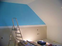 comment peindre une chambre avec 2 couleurs comment peindre une chambre avec 2 couleurs gris et bleu dijon