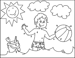 Free Coloring Pages Summer Coloring Pages Preschool Fresh