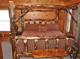 Pictures Of Log Beds by Classic Canopy Beds For Adults Modern Wall Sconces And Bed Ideas