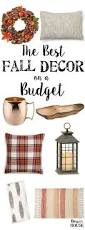 the best fall decor on a budget budgeting free and autumn