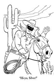 western coloring pages