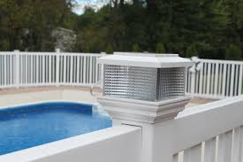yard and pool fencing pvc fencing for securing pool and yard areas