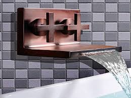 oil rubbed bronze kitchen faucet oil rubbed bronze waterfall
