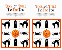 Printable Halloween Game by East Coast Mommy Printable Halloween Tic Tac Toe Candy Free Treat
