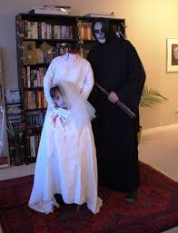 halloween headless horseman costume headless bride from duct tape 10 steps with pictures