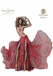 scary skinny beyoncé in fashion sketch ny daily news