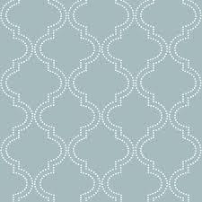 blue quatrefoil wallpaper nuwallpaper slate blue quatrefoil peel and stick wallpaper nu1826