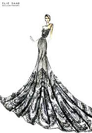 Draping Designs One Of My Favorite Sketches I Analyze The Draping Patterns And
