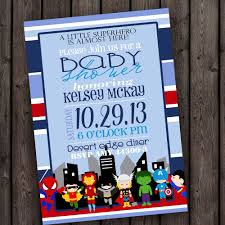 avengers invites superhero baby shower invitations u2013 gangcraft net