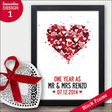 one year wedding anniversary gifts 1st anniversary gifts ebay