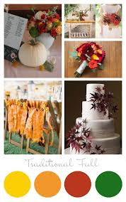 75 fall wedding palette images wedding color