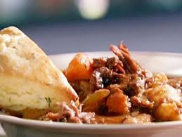 alton brown beef stew beef stew with cream biscuits recipes cooking channel recipe