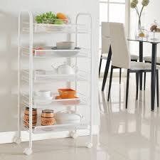Amazon Com Langria Living Storage by Amazon Com Langria 5 Tier Gap Kitchen Storage Slim Slide Out