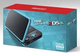 amazon com nintendo new 2ds xl black turquoise nintendo 2ds