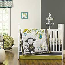 Boy Monkey Crib Bedding Baby Safari Monkey 4 Crib Bedding Set Baby