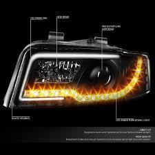 audi a4 headlights xenon 02 05 audi a4 04 05 audi s4 b6 led tube signal