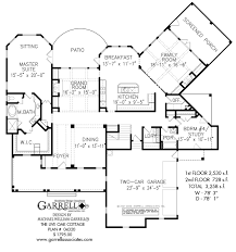 Farm Cottage Plans by The Live Oak Cottage House Plans By Garrell Associates Inc