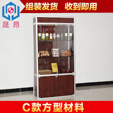 Showcase Glass Cabinet China Glass Display Showcase China Glass Display Showcase