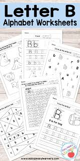 B And D Worksheets Letter B Worksheets Alphabet Series Easy Peasy Learners