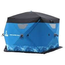 clam escape ice pop up 6 sided shelter by clam at mills fleet farm