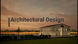 architectural design new masjid project masjid tawheed wa sunnah