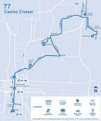 Msu Maps 77 Casino Cruiser Routes Ride Kc