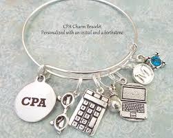 graduation jewelry gift cpa charm bracelet personalized graduation gift for cpa gift for