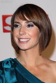 easy bob hairstyles alex jones with her hair cut into an easy to do bob with angled sides