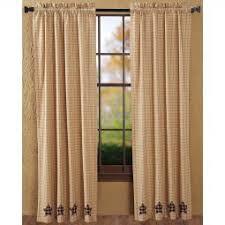 Primitive Curtain Tie Backs Primitive Home Decor Primitive Curtain Hooks Black Star