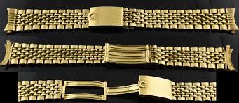 gold omega bracelet images Omega rare solid 18k gold rice bracelet jpg