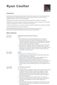 marketing resume sle marketing analyst resume sles visualcv resume sles database