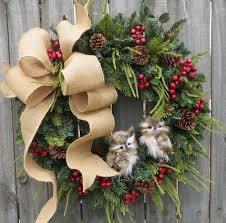 christmas wreaths 21 artificial christmas wreath ideas for stunning front door